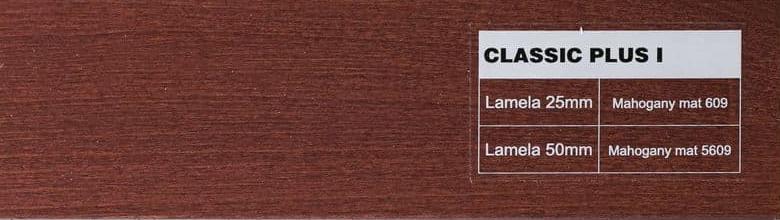 Classic 609 fa reluxa szín