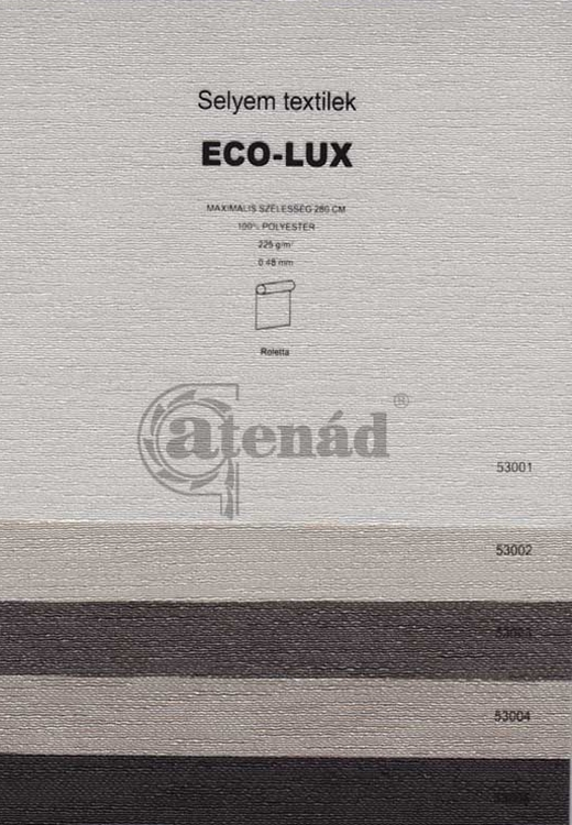 Eco-lux roletta színek
