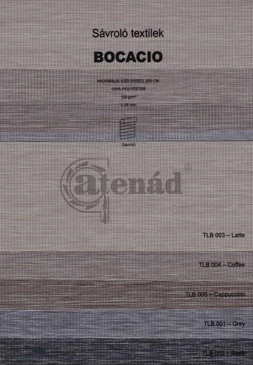 Sávroló színminta - Bocació textilek
