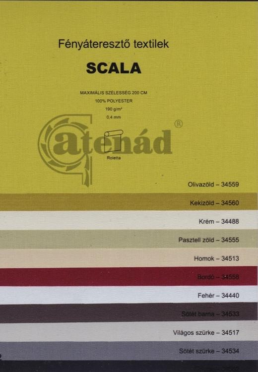 Scala_2 roletta színek