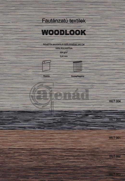 Woodlook roletta színek