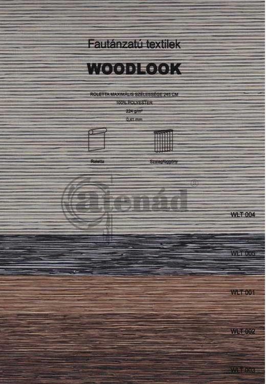 Woodlook szalagfüggöny színek